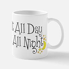 QuiltDayNight2 Mugs