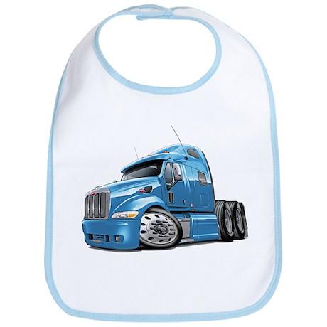 Peterbilt 587 Lt Blue Truck Bib