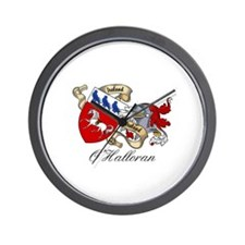 O'Halloran Family Crest Wall Clock
