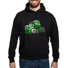 Peterbilt 587 Green Truck Hoodie