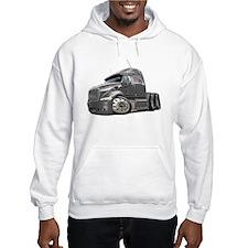 Peterbilt 587 Grey Truck Hoodie