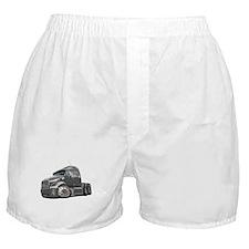 Peterbilt 587 Grey Truck Boxer Shorts