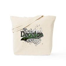 Douglas Tartan Grunge Tote Bag