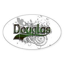 Douglas Tartan Grunge Decal