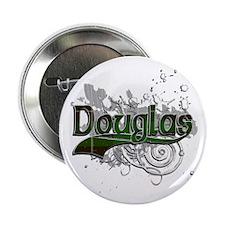 "Douglas Tartan Grunge 2.25"" Button"
