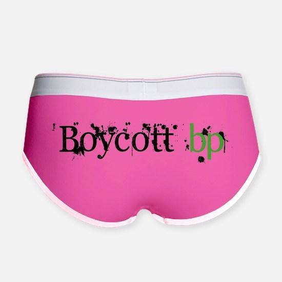 Boycott bp Women's Boy Brief