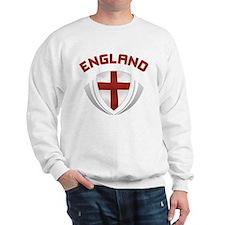 Soccer Crest ENGLAND red / grey Sweatshirt
