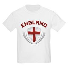 Soccer Crest ENGLAND red / grey T-Shirt