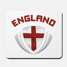 Soccer Crest ENGLAND red / grey Mousepad