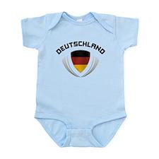 Soccer Crest DEUTSCHLAND Infant Bodysuit