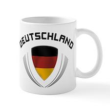 Soccer Crest DEUTSCHLAND Mug
