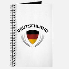 Soccer Crest DEUTSCHLAND Journal