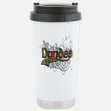 Dundee Tartan Grunge Travel Mug