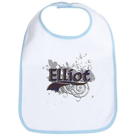Elliot Tartan Grunge Bib