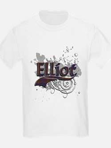 Elliot Tartan Grunge T-Shirt