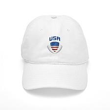 Crest USA blue / grey Baseball Cap
