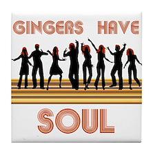 Gingers Have Soul Tile Coaster