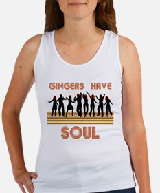 Gingers Have Soul Women's Tank Top