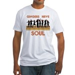 Gingers Have Soul Fitted T-Shirt