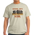 Gingers Have Soul Light T-Shirt
