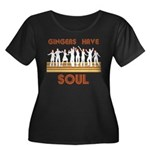 Gingers Have Soul Women's Plus Size Scoop Neck Dar