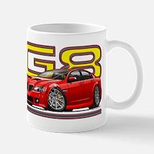Red Pontiac G8 Mug
