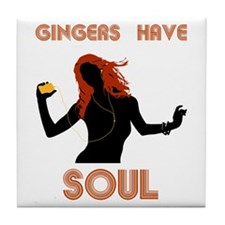 Female Gingers Have Soul Tile Coaster