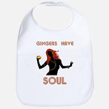 Female Gingers Have Soul Bib