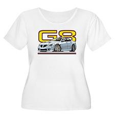Silver / white G8 T-Shirt