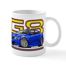 Blue Pontiac G8 Mug