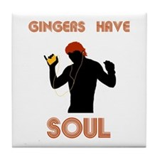 Male Gingers Have Soul Tile Coaster