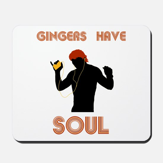 Male Gingers Have Soul Mousepad