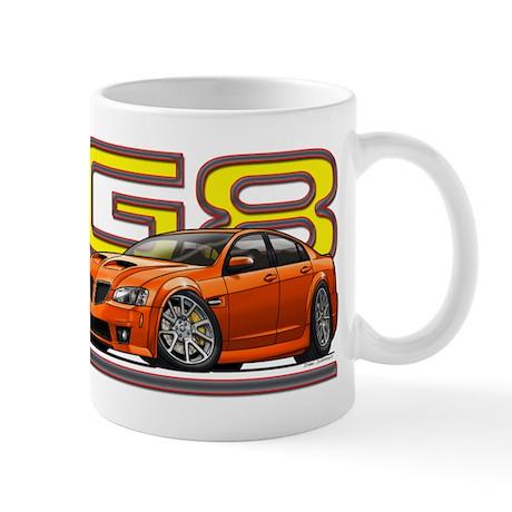 Orange G8 Mug