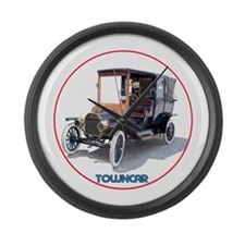 The Town Car Large Wall Clock