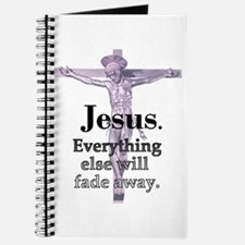 Jesus. Everything fades away Journal