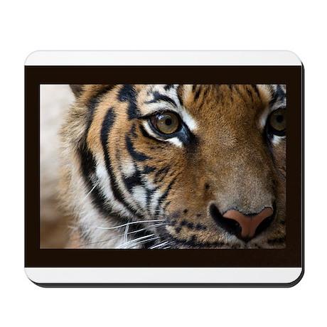 The Tiger's Eye Mousepad