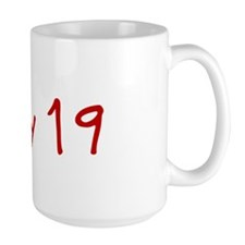 """May 19"" printed on a Mug"
