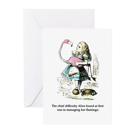 Alice in Wonderland Greeting Cards (Pk of 10)