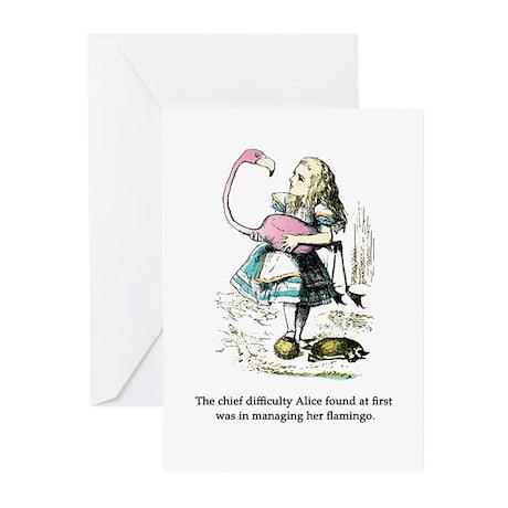 Alice in Wonderland Greeting Cards (Pk of 20)