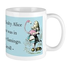Alice in Wonderland Small Mug
