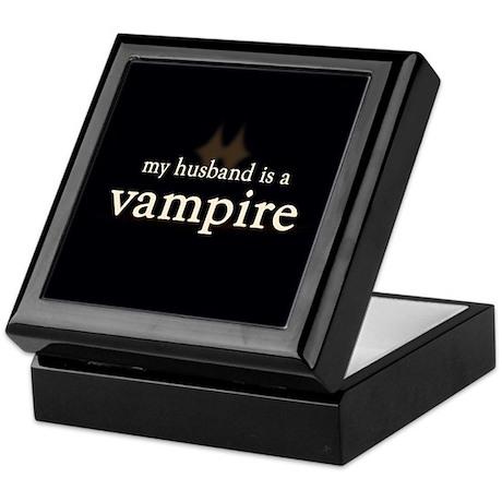 Husband Vampire Keepsake Box