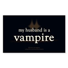 Husband Vampire Decal
