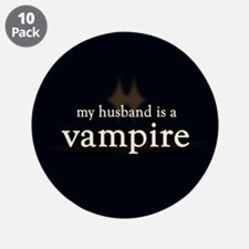 "Husband Vampire 3.5"" Button (10 pack)"