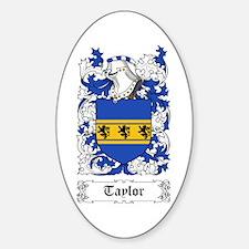 Taylor II [English] Sticker (Oval)