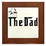 Fun The Dad Framed Tile