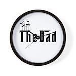 Fun The Dad Wall Clock