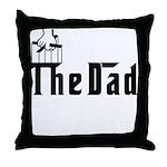 Fun The Dad Throw Pillow
