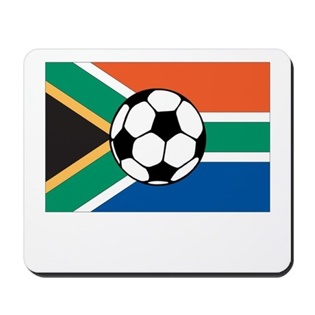 South Africa Soccer Mousepad