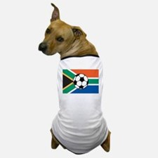 South Africa Soccer Dog T-Shirt