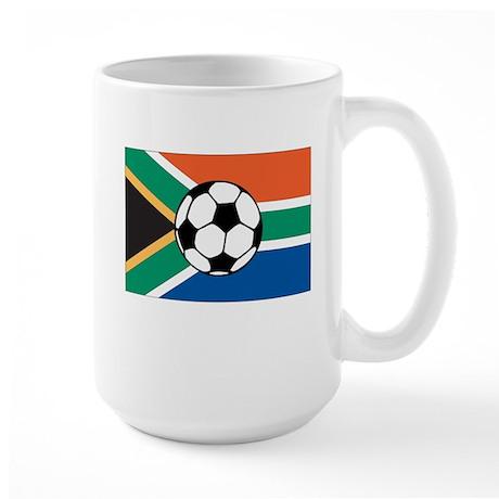 South Africa Soccer Large Mug